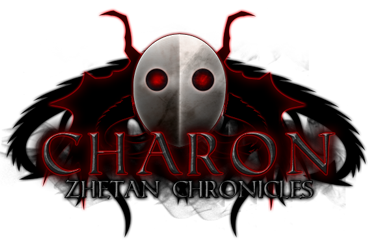 Charon Zhetan Chronicles Spiellogo